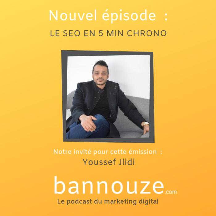 Le Seo en 5 mini chrono – Youssef Jlidi – Consultant
